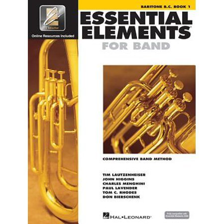 Essential Elements for Band -  Bariton B.C. Book 1 with EEi