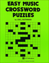 Easy Music Crossword Puzzles 1