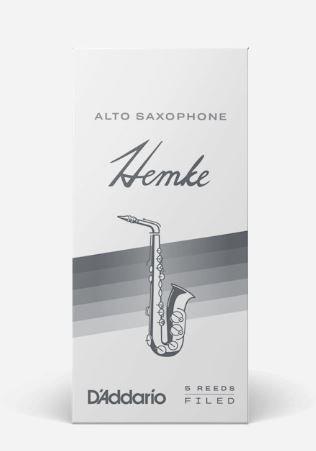 D'Addario FREDERICK L. HEMKE ALTO SAXOPHONE REEDS Strength 3.0, 5-Pack