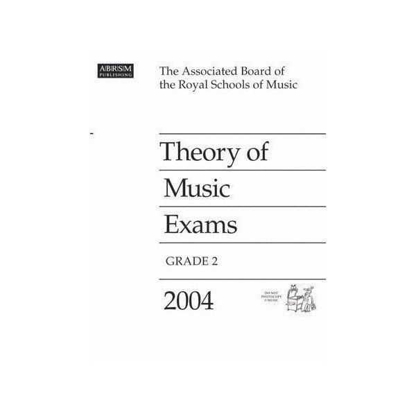 ABRSM Theory of Music Exams Grade 2 2004