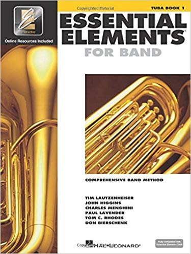 Essential Elements for Band - Tuba Book 1 with EEi -Tuba in C(B.C.)