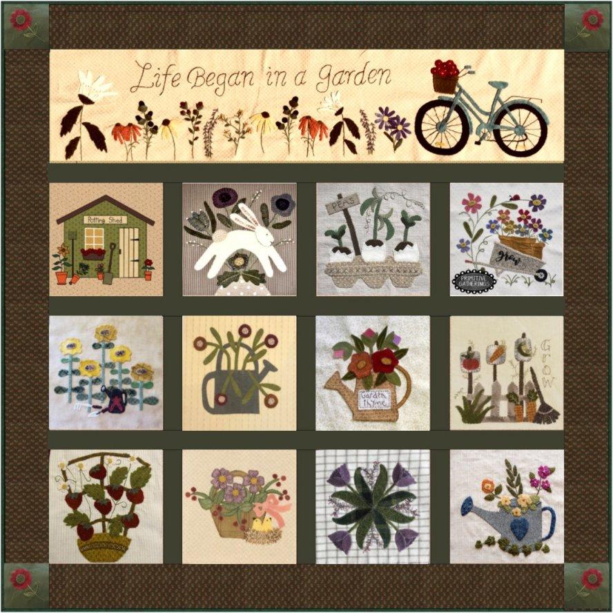 Garden Mystery Quilt