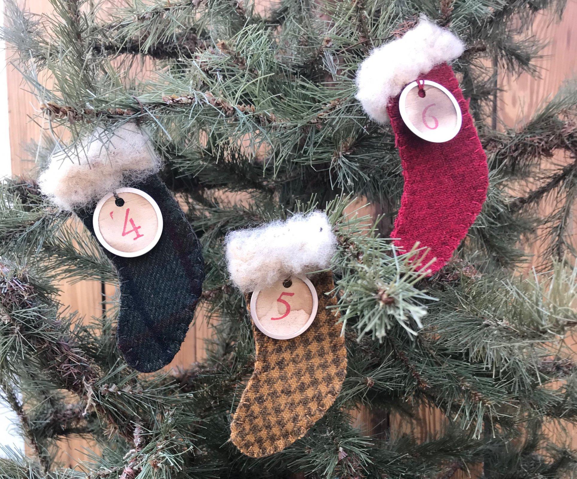 2018 Advent Stockings