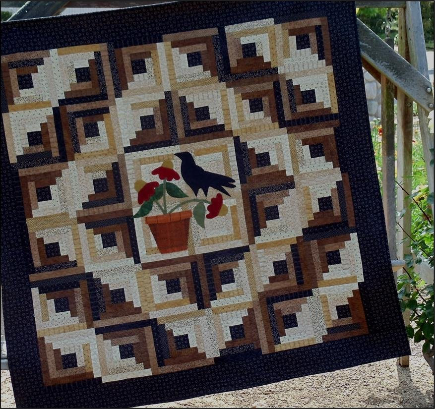 Cabin Crow Quilt