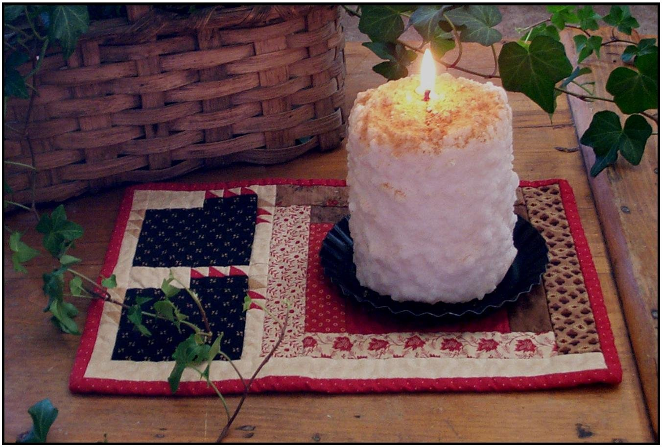 Chicks Candle Mat