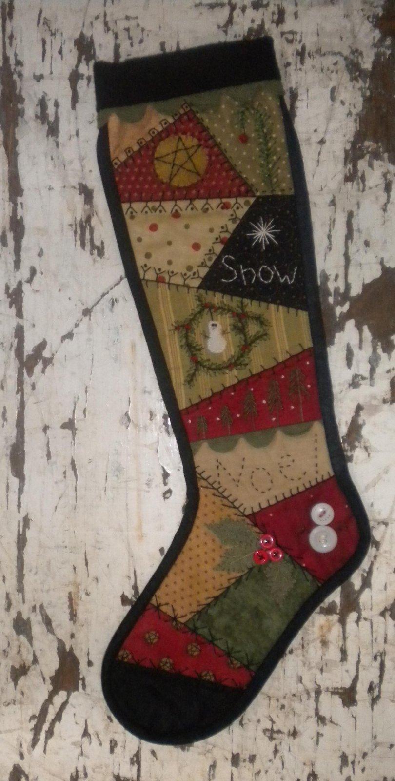 Crazy Christmas Stocking