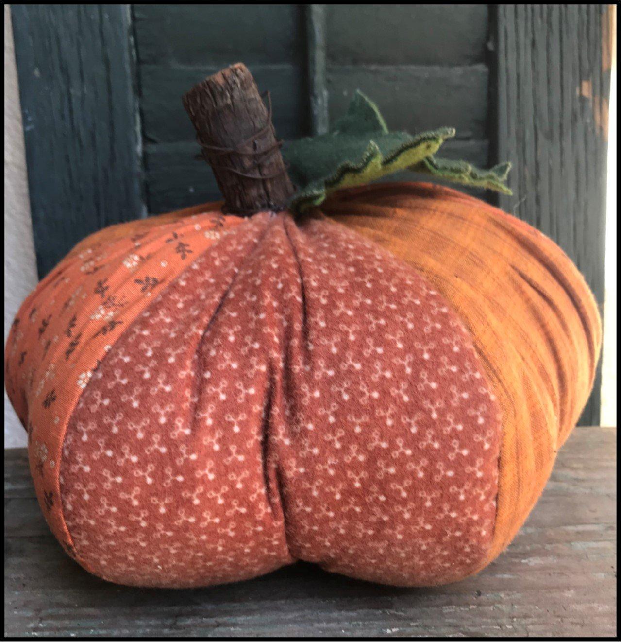 Fat Scrappy Pumpkin