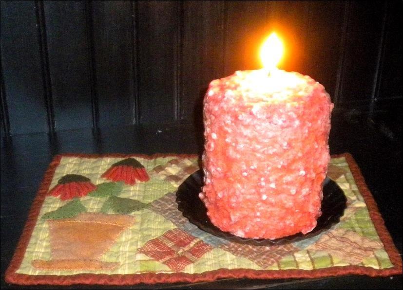 Garden Candle Mat