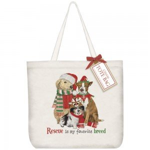 A TOTE HOLIDAY RESCUE PETS