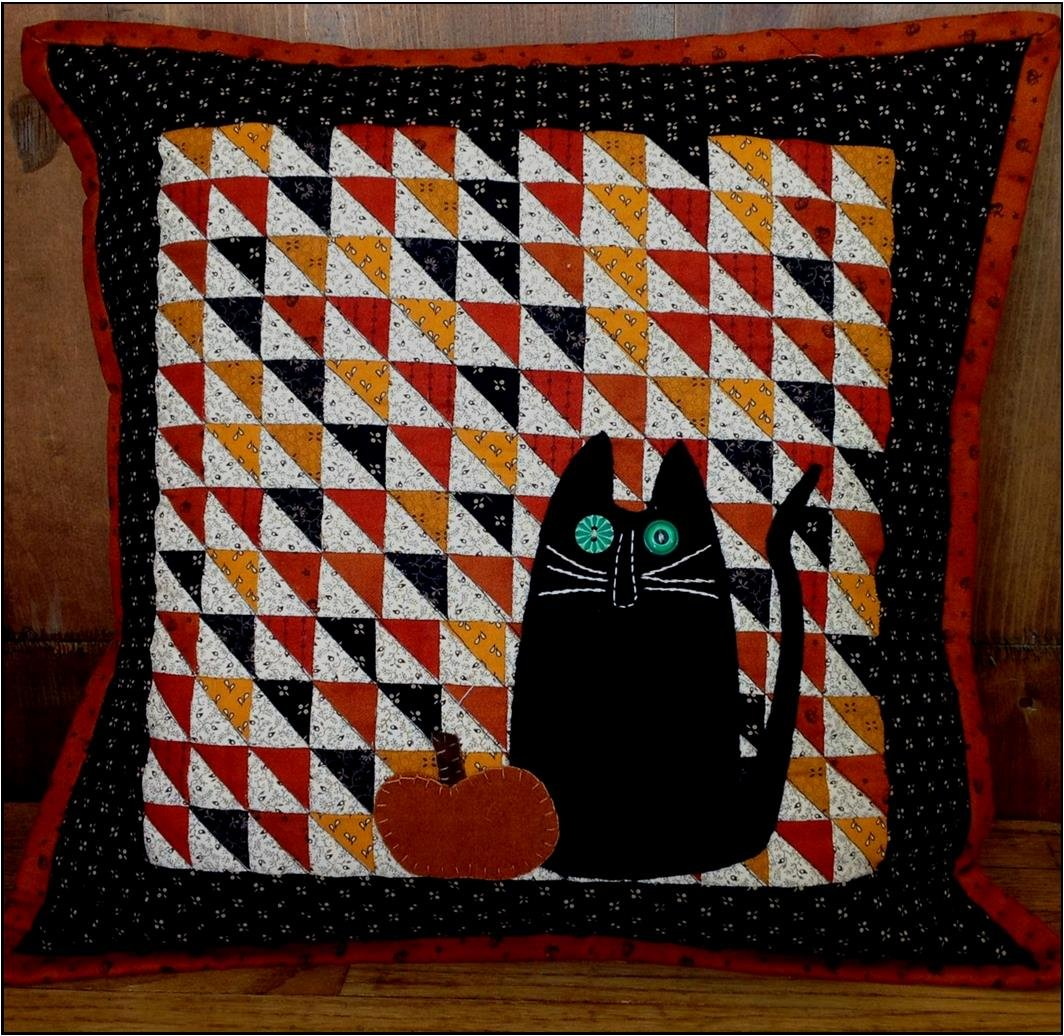 October Treats Pillow