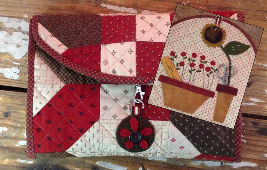 Farm Girl Sewing Clutch