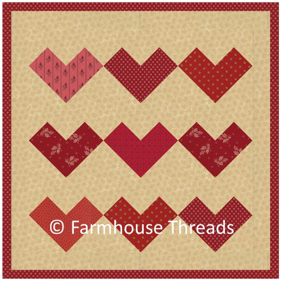 Farmhouse Threads; 2020 Christmas Pdf; -Pinterest Farmhouse Threads | Original Quilt Patterns | Holiday Patterns