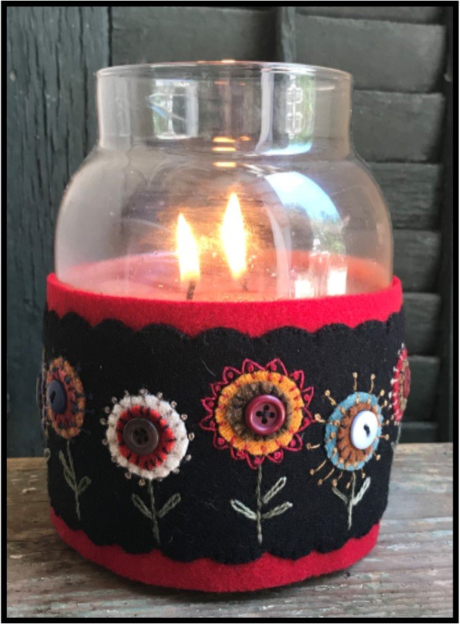 Pennies Candle Wrap