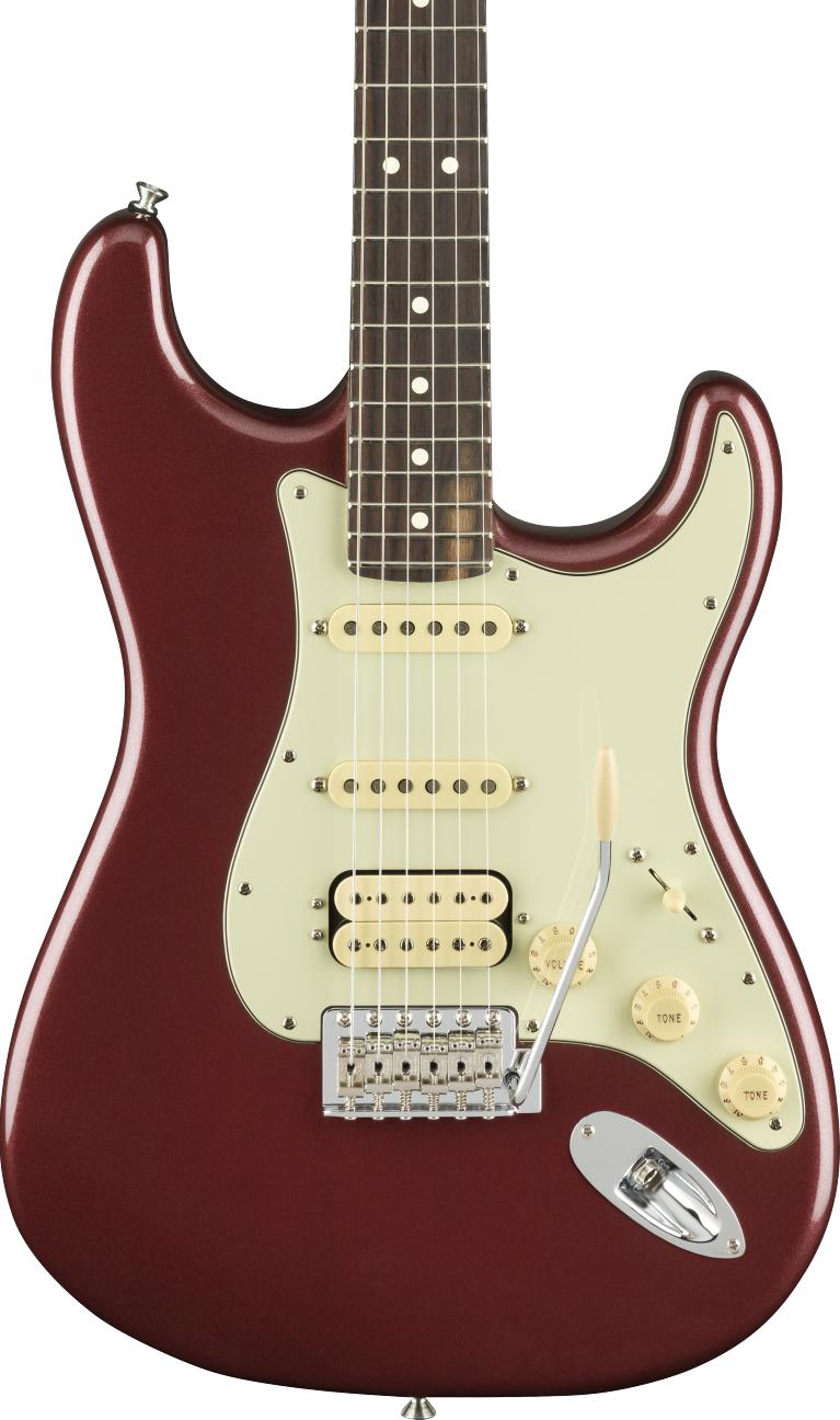 Fender American Performer Stratocaster HSS Aubergine