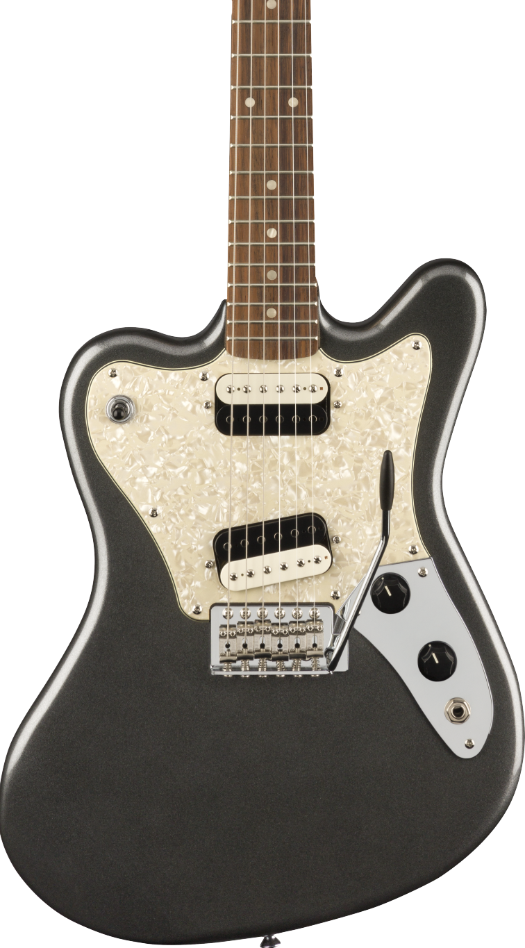 Squier Paranormal Series Super-Sonic Graphite Metallic, Laurel Fingerboard