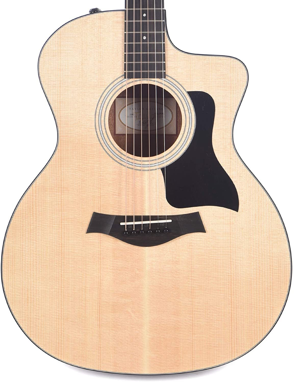 Taylor 114ce Grand Auditorium Cutaway Acoustic/Electric - Walnut