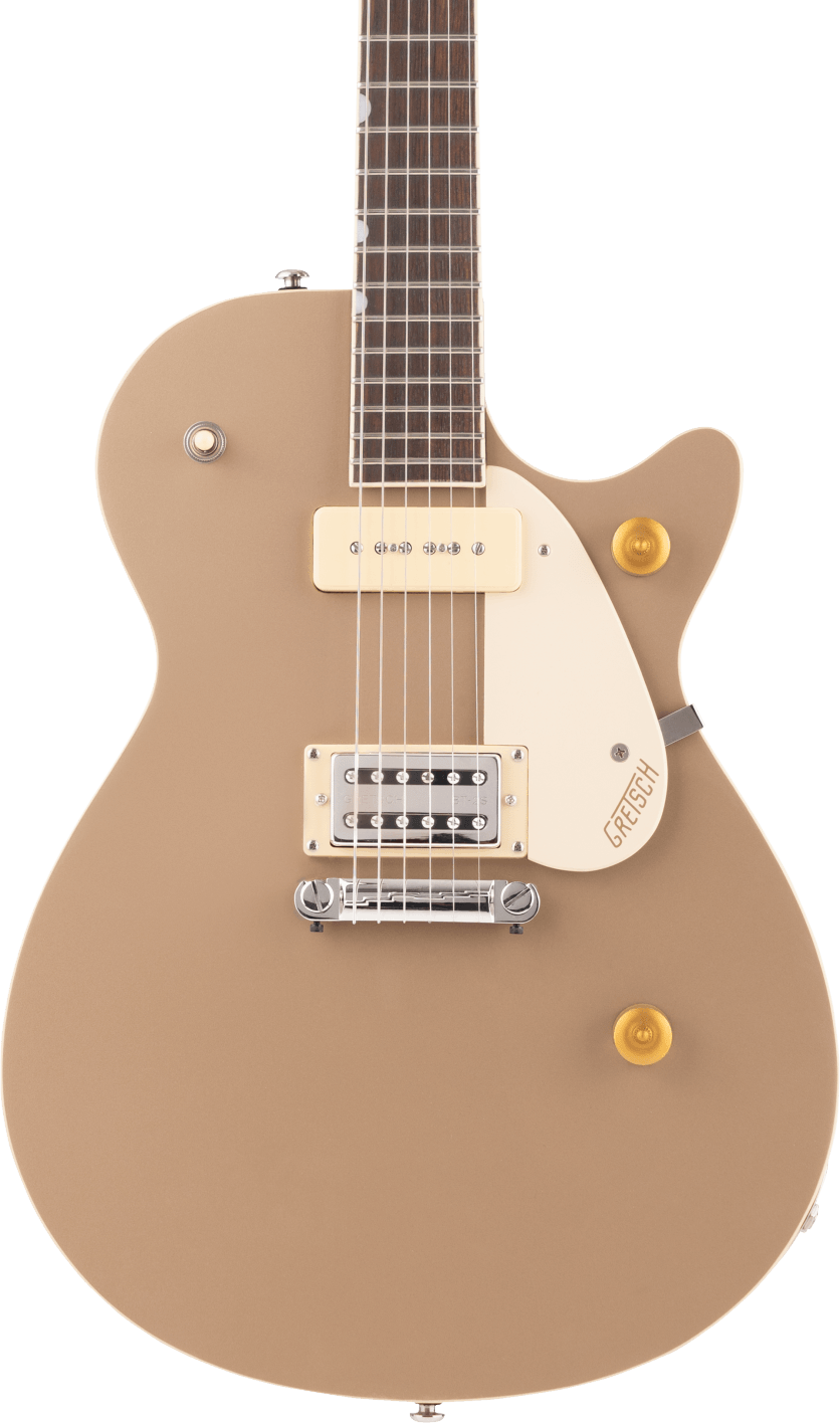 Gretsch G2215-P90 Streamliner Jr Jet Club Sahara Metallic