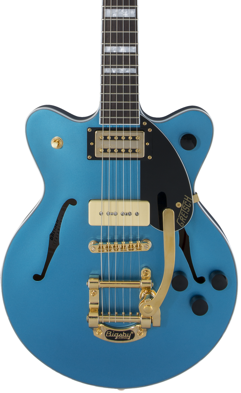 Gretsch G2655TG-P90 LTD Streamliner Riviera Blue Satin