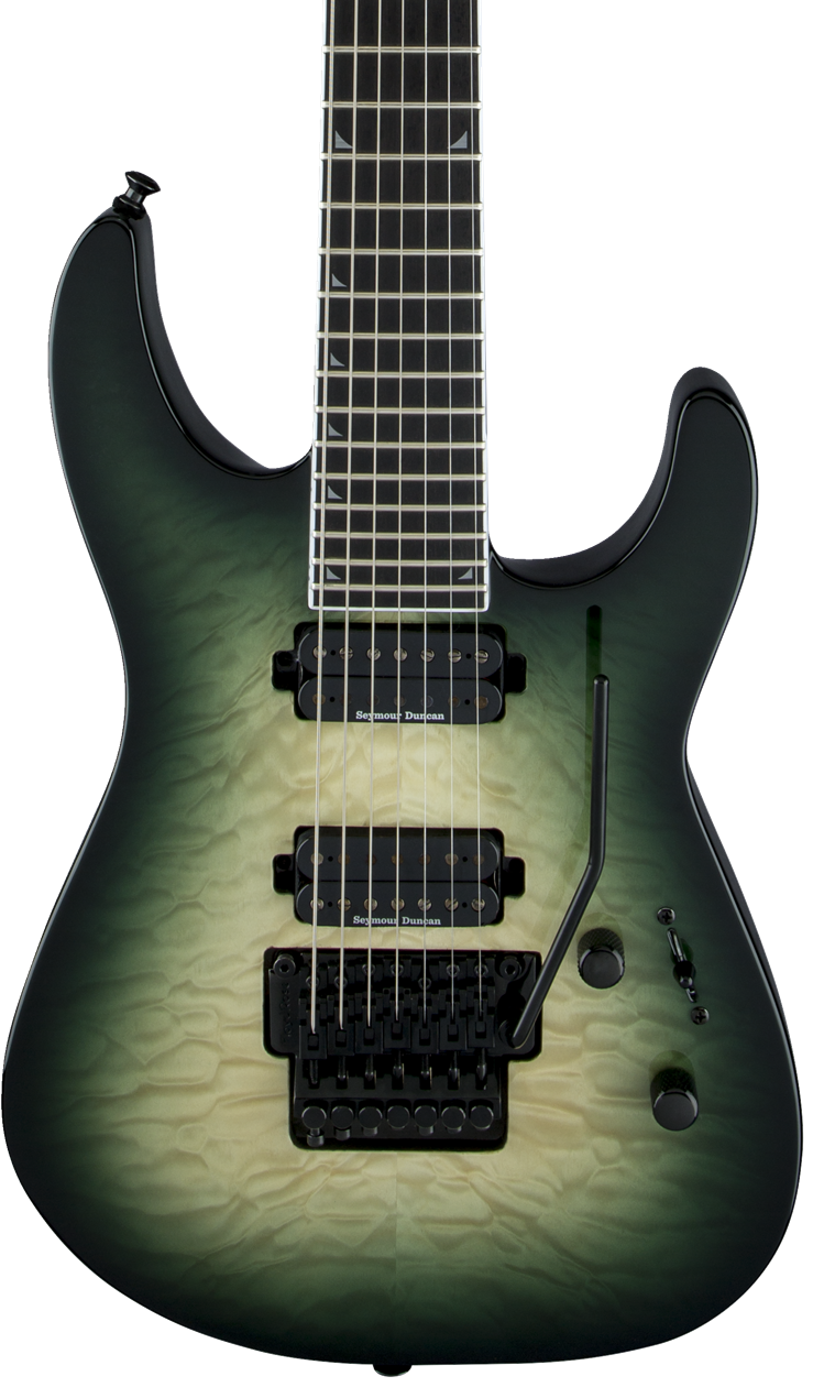 Jackson Pro Series Soloist SL2Q MAH - Alien Burst