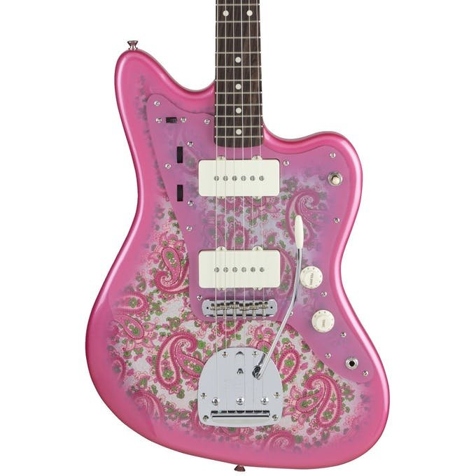 Fender Limited MIJ Traditional 60's Jazzmaster Pink Paisley