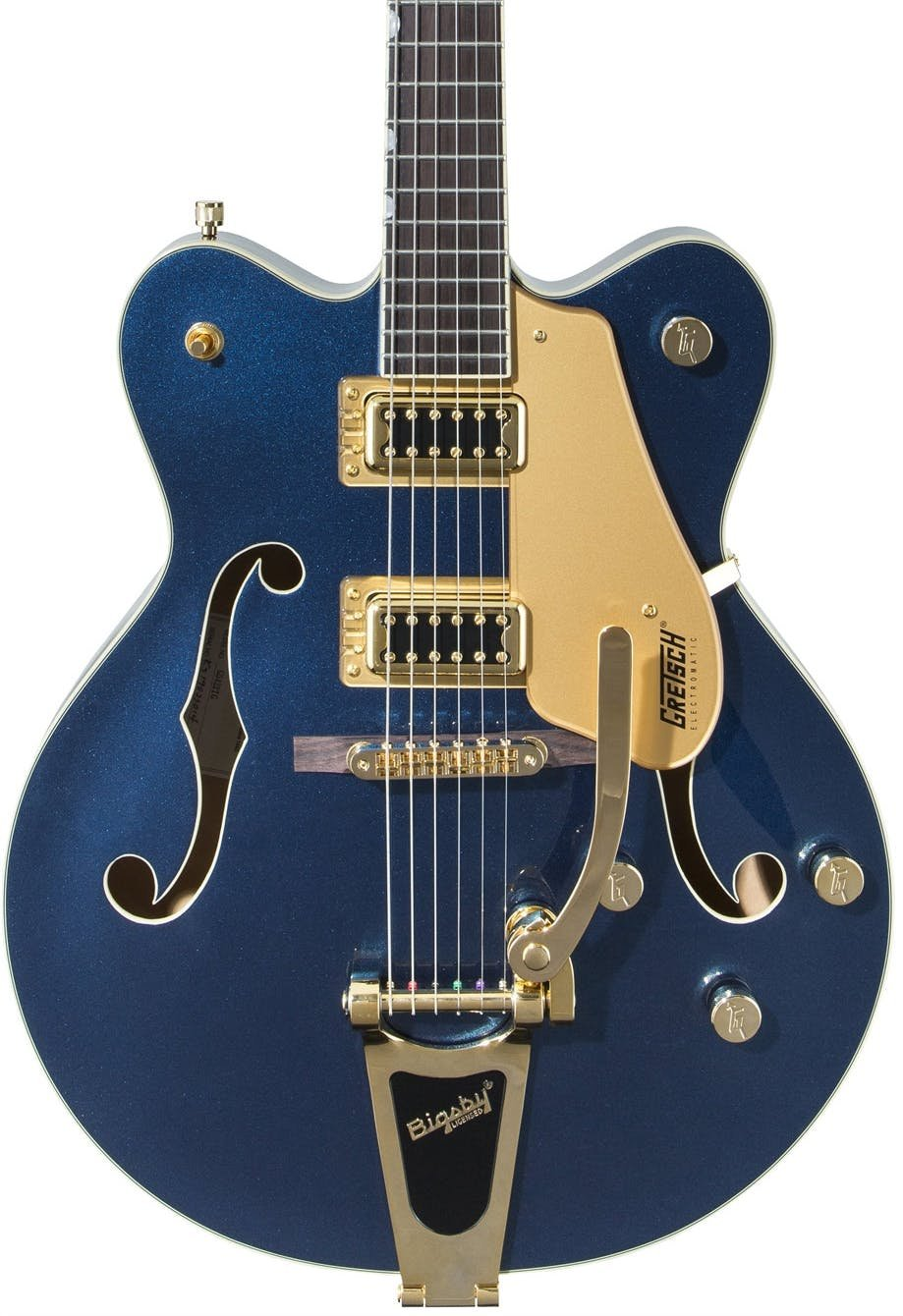Gretsch G5422TG Limited Edition Electromatic Double-Cut Hollowbody w/Bigsby Sapphire Blue