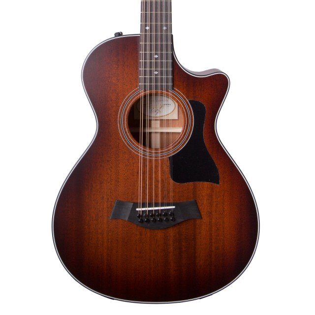 Taylor 362CE 12 String Shaded Edge Burst V Class Bracing