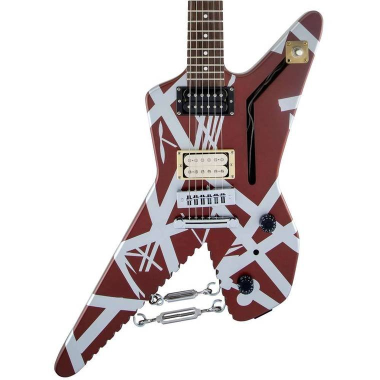 EVH Striped Series Shark Guitar