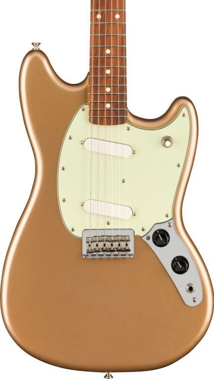 Fender Player Mustang Pau Ferro Firemist Gold