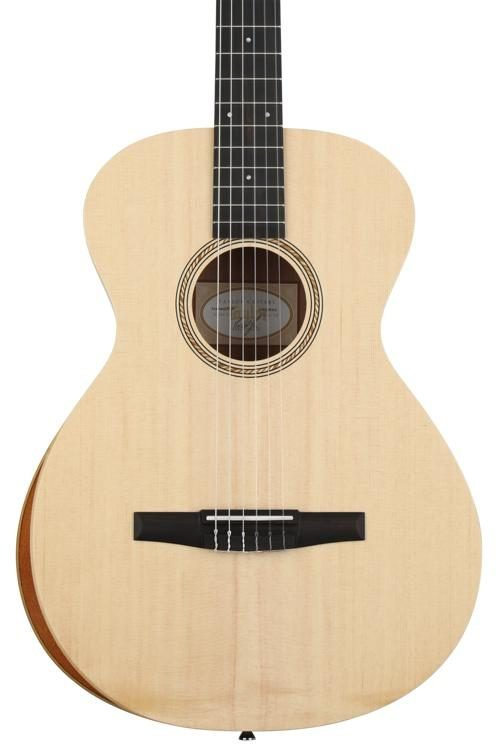 Taylor Academy 12e-N  Acoustic/Electric Nylon String w/Arm Bevel and Gig Bag