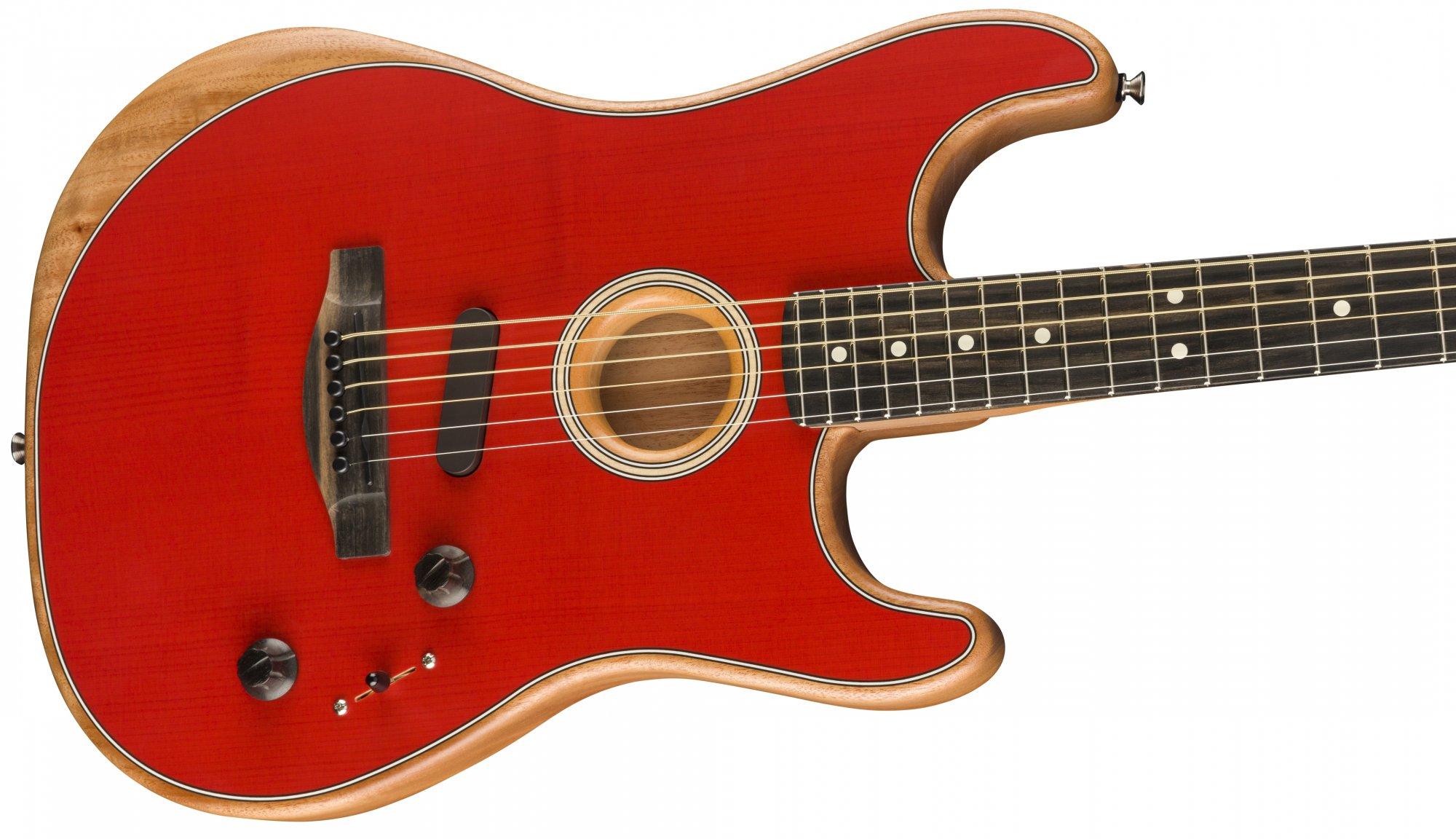 Fender Acoustasonic Stratocaster Dakota Red