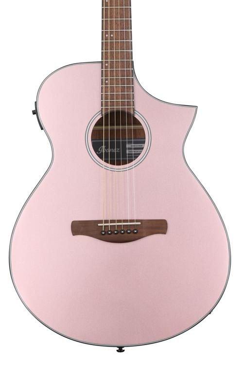 Ibanez AEWC10RGM Acoustic/Electric Rose Gold Metallic
