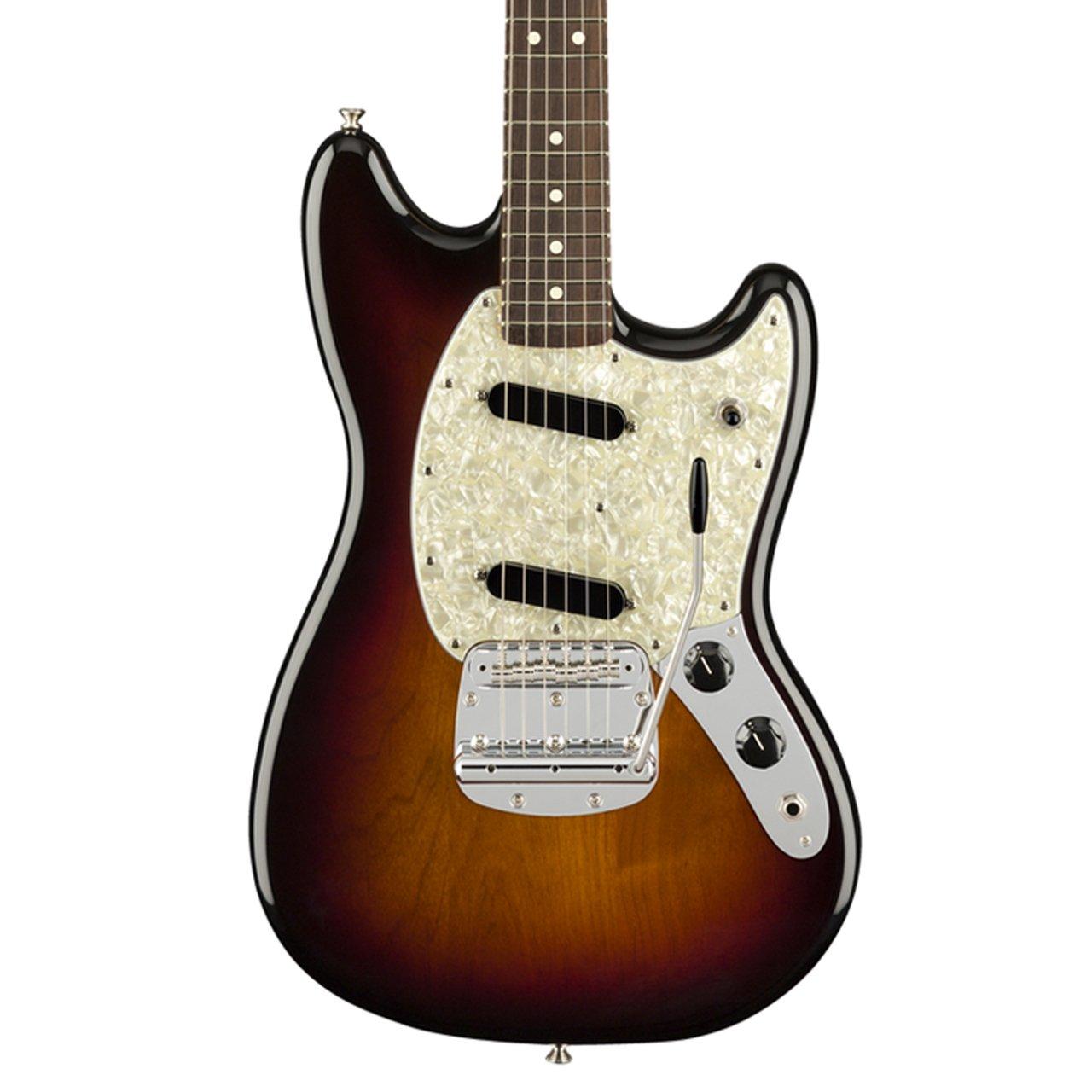 Fender American Performer Mustang 3 Tone Sunburst