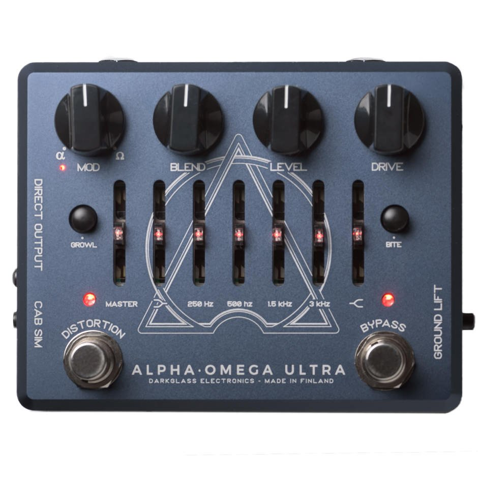 Darkglass Alpha Omega Ultra Bass Preamplifier