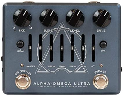 Darkglass Alpha Omega Ultra V2 Bass Preamplifier