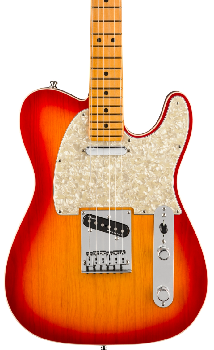 Fender American Ultra Telecaster Plasma Red Burst