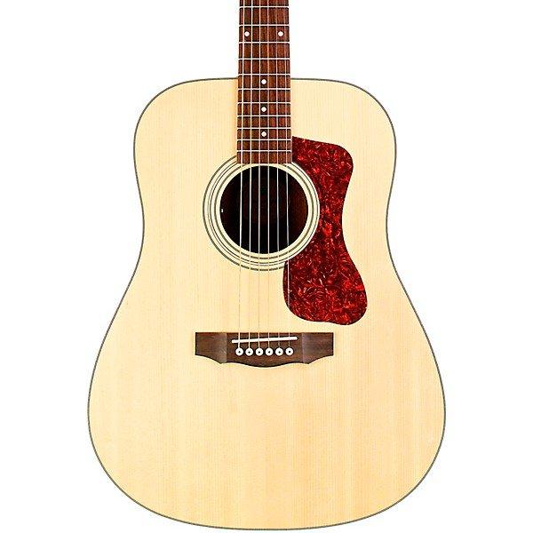 Guild D-240E Natural Solid Top Dreadnaught Acoustic Guitar