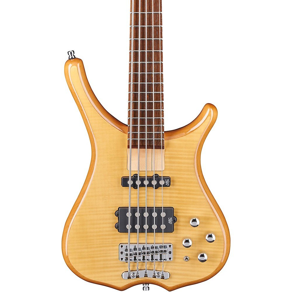 Warwick Rockbass Infinity 5-String Bass Natrural Transparent High Polish