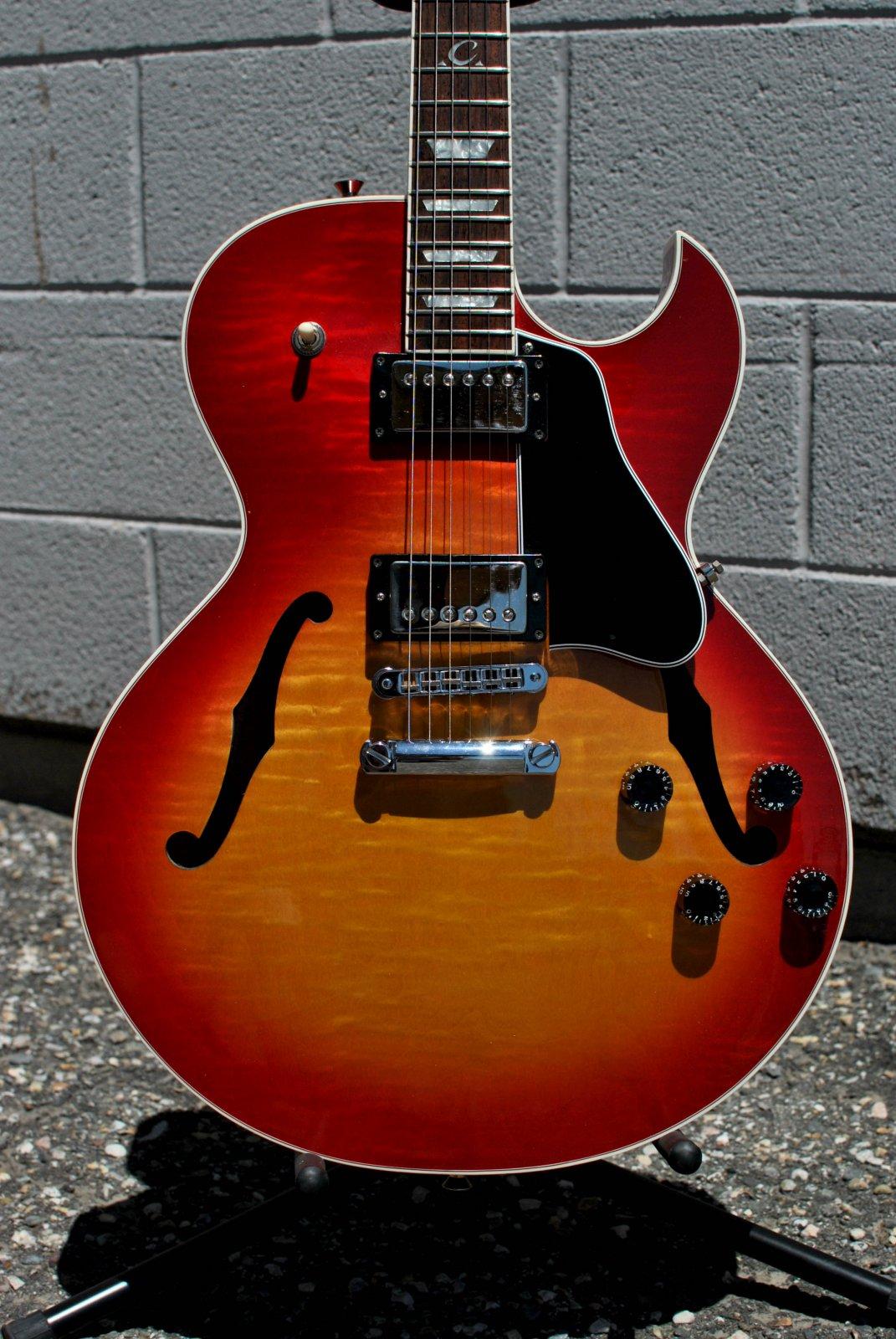2002 Gibson ES-137 Cherry Sunburst U 13128