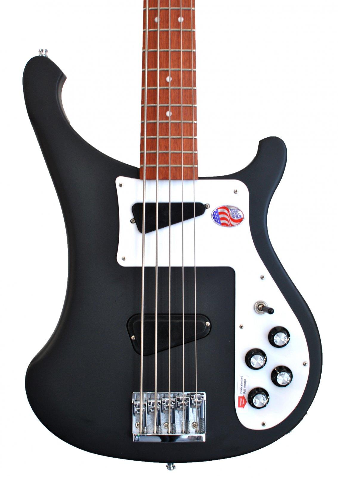 Rickenbacker 4003S/5 Matte Black
