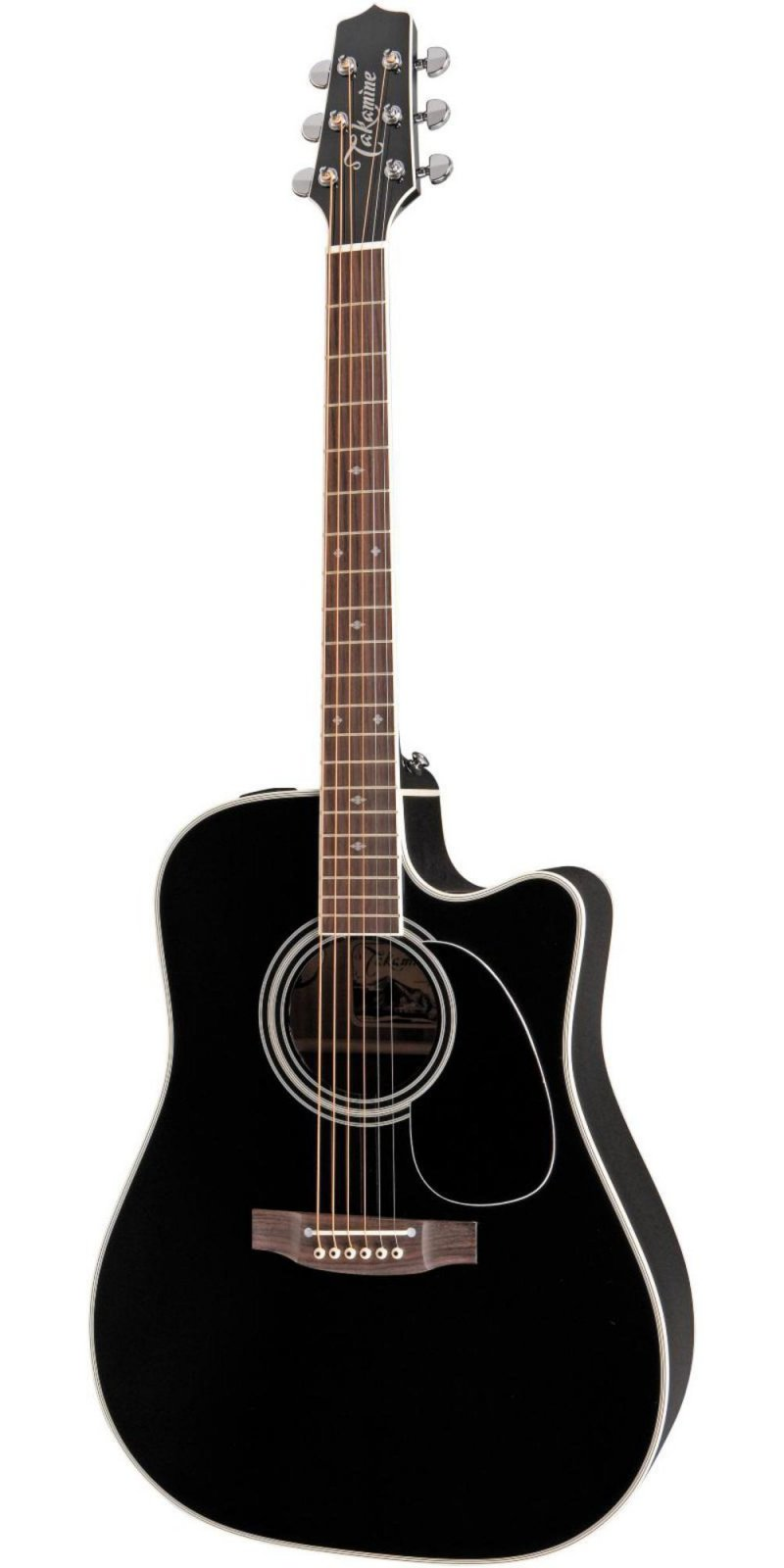 Takamine Legacy EF341SC Acoustic/Electric Black Dreadnought