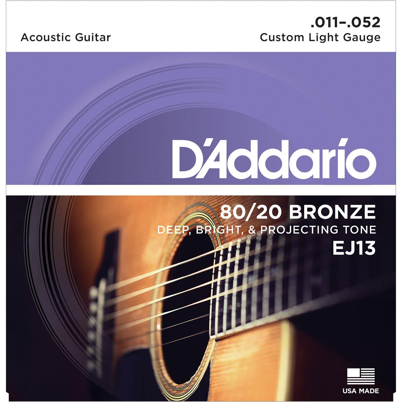 D'Addario 80/20 Bronze EJ13 11-52