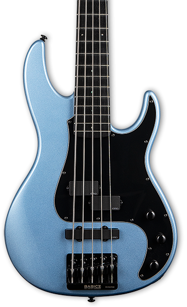 LTD LAP5PB 5 String Bass Pelham Blue