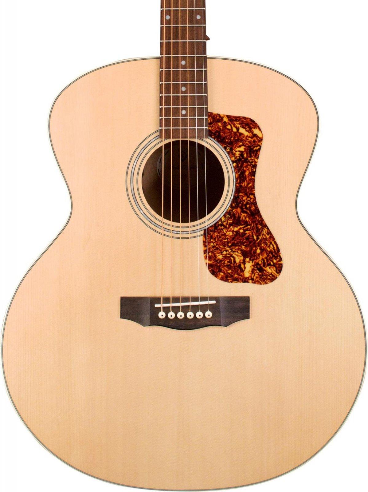 Guild F-240E Jumbo Acoustic Electric Guitar Natural