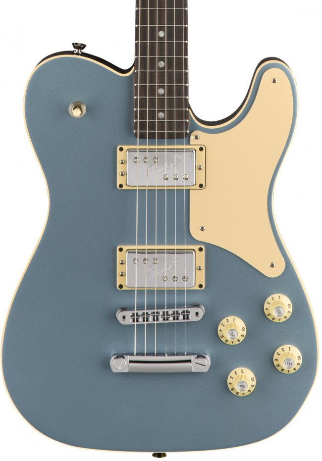 Fender Troublemaker Tele Parallel Universe Rosewood Ice Blue Metallic
