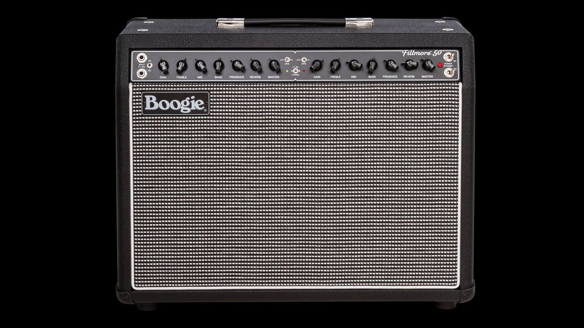 Mesa/Boogie Fillmore 50 1x12 Black Bronco Tinsel Grille C90