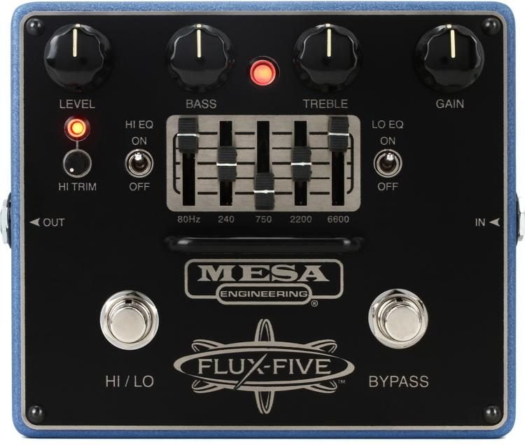 Mesa/Boogie Flux-Five Overdrive and 5 Band EQ