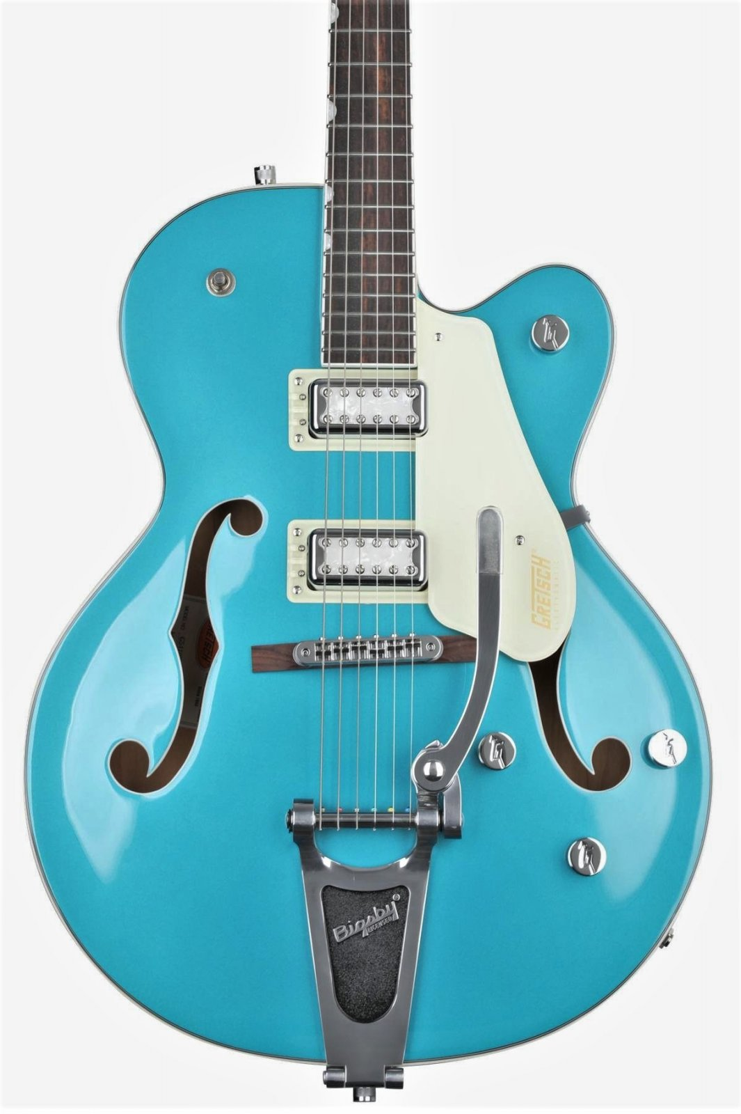 Gretsch G5410T Limited Edition Electromatic Tri-Five Hollowbody E/G Bigsby Ocean Turquoise/Vintage White
