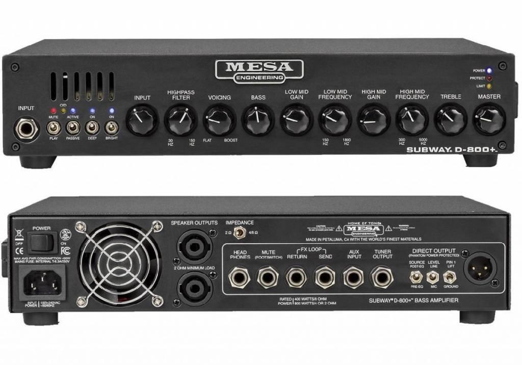 Mesa/Boogie Subway D800 Plus Bass Amplifier
