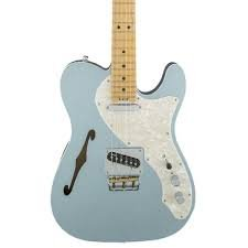 Fender American Elite Thinline Telecaster Mystic Ice Blue
