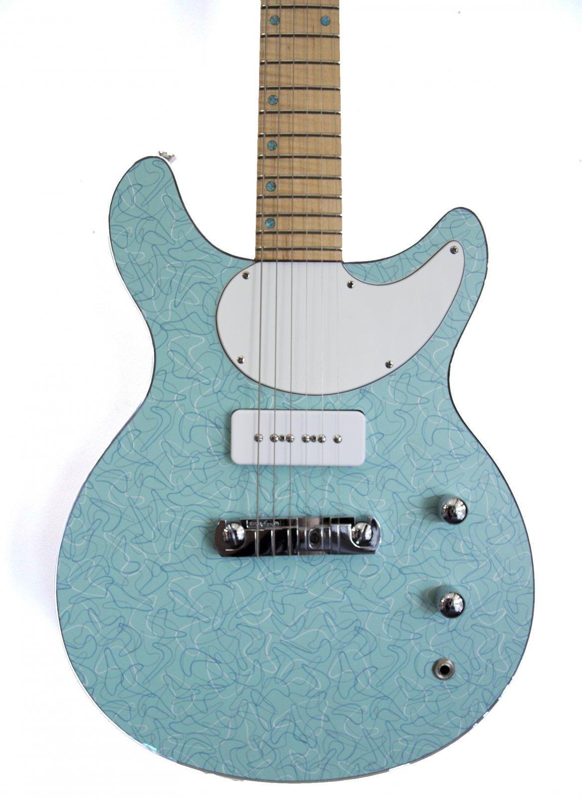 C 12735 - Joe's Guitars 6 String Diner W/Hard Case